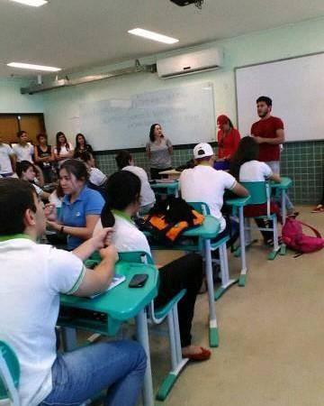 Estudantes de Picuí