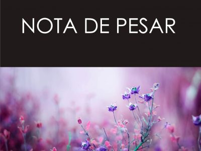Note de Pesar – Professor Raimundo Nonato
