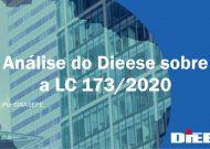 Análise do Dieese sobre a LC 173/2020
