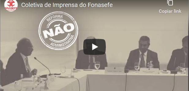 Confira a Coletiva de Imprensa do Fonasefe ocorrida na última quinta-feira, 05/11.
