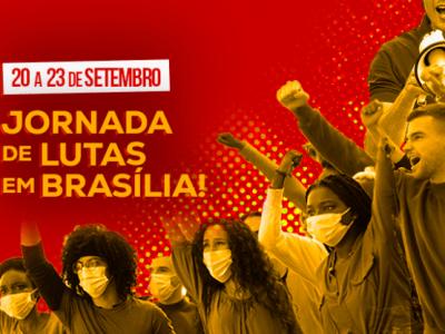 20 a 23 de setembro: 2ª Jornada de Lutas em Brasília-DF